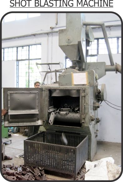 SHORT BLASTING MACHINE